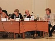 Dragon Forum, from the left: Radim Prochazka, Katarzyna Malinowska, Wim van Rompaey and Marijke Rawie