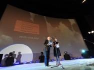 Krzysztof Gierat (Festival Director) and Barbara Orlicz-Szczypuła (Director of Programme Office)