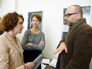 Barbara Orlicz-Szczypuła (dyrektor Biura Programowego KFF), Katarzyna Ślesicka (DOC LAB POLAND) Adam Ślesicki (DOC LAB POLAND)