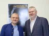 Krzysztof Gierat (Dyrektor KFF), Krzysztof Kopczyński (reżyser filmu 'Dybuk. Rzecz owędrówce dusz)