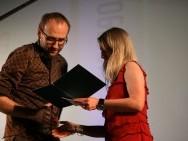 Marcin Koszałka odbiera Nagrodę Publiczności