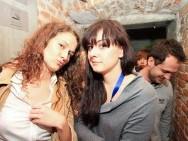Aleksandra Banaś (The Head of the Reception Desk and Volunteers Coordinator) and Zofia Ścisłowska (Industry Zone)