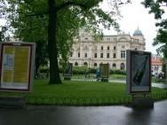 Planty i Teatr Słowackiego, fot. Tomasz Korczyński