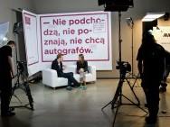 Studio festiwalowe, pierwsze nagrania / fot. Tomasz Korczyński