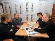 Marek Żydowicz, Roman Gutek, Stefan Laudyn, Krzysztof Gierat