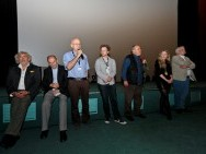 Q&A after screening of 'A Dream of Warsaw'