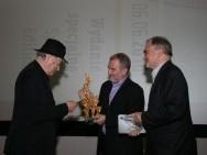 Jonas Mekas, Krzysztof Gierat, prof. Tadeusz Lubelski