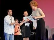 HBO Developement Award, od prawej: Izabela Łopuch (HBO) i laureatka Joanna Frydrych / fot. Tomasz Korczyński