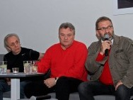 Tomasz Zeliszewski, Krzysztof Cugowski, Piotr Metz / phot. T. Korczynski