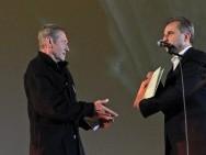 Jacek Petrycki ('My Notes From The Underground') and the minister Sławomir Rogowski (KRRiTV, EFA)