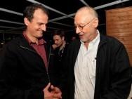 Wojciech Staroń with Bogdan Dziworski / phot. T. Korczyński