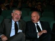 Prezydent M. Krakowa Jacek Majchrowski i Marszałek Woj. Małopolskiego Marek Nawara