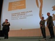Magdalena Sroka, prof. Tadeusz Lubelski, Krzysztof Giera