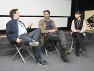 Q&A po filmie Dobry biznes to show-biznes, Martin Schilt i Bernard Weber / fot. Paweł Frosik
