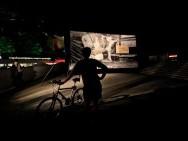 Open air-cinema Pod Wawelem, screenings everyday at 10 p.m.