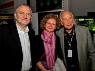 Krzysztof Gierat, Bożena Gierat and Yoram Gross