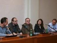 Marcin Sauter, Marcin Koszałka, prof. Tadeusz Lubelski, Anita Piotrowska, Michał Oleszczyk