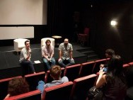 Q&A after the screening, phot. K. Kolasa