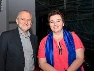 Krzysztof Gierat with Magdalena Sroka - Krakow's Vice President / phot. T. Korczyński