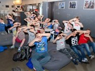 FILMPRO workshops for children 'How toMake aMovie'/ fot. Tomasz Korczyński