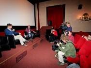 Kevin Macdonald and Piotr Metz, press briefing at Kino pod Baranami