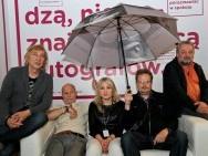 Jury konkursy polskiego - Ryszard Jaźwiński, Jacek Hugo-Bader, Agnieszka Traczewska, Adam Sikora i Marek Skrobecki  / fot. T. Korczyński