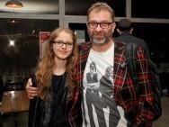 Bankiet HBO - Piotr Metz z córką Karoliną / fot. T. Korczyński