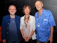 Krzysztof Gierat, Sophie Turkiewicz & Rod Freedman / phot. T. Korczyński