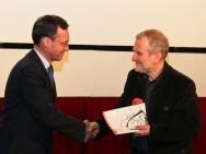 Ambasador Szwajcarii Lukas Berlinger i Krzysztof Gierat / fot. Tomasz Korczyński