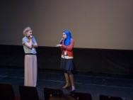 Q&A z Karimą Zoubir po filmie Kobieta z kamerą /  fot. Martyka,  kimbbNE