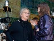 Kijów.Centrum, 2 czerwca - Maria Zmarz-Koczanowicz udziela wywiadu