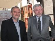 Krzysztof Gierat i Prof. Jacek Majchrowski / fot. Tomasz Korczyński