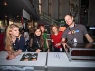 Festival Reception Desk crew